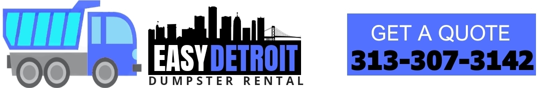 Easy Detroit Dumpster Rental